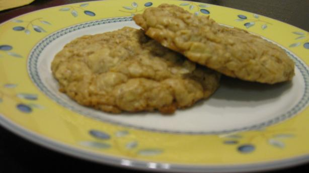 Butterscotch Almond and Oatmeal Cookies