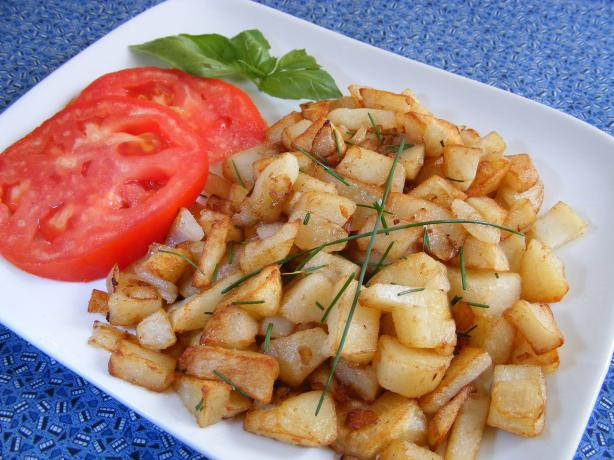 Home Fries With Onions and Chives