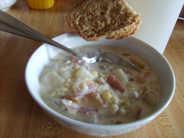 Sassy Potato Corn Chowder