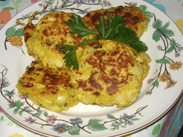 Leftover Turkey and Mashed Potato Patties
