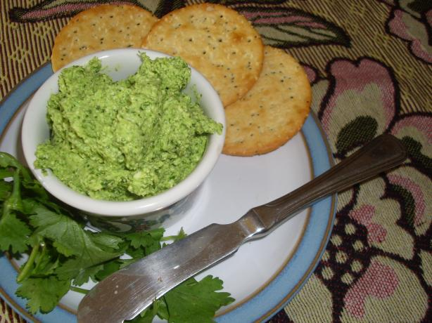 Coriander and Goats Cheese Pesto
