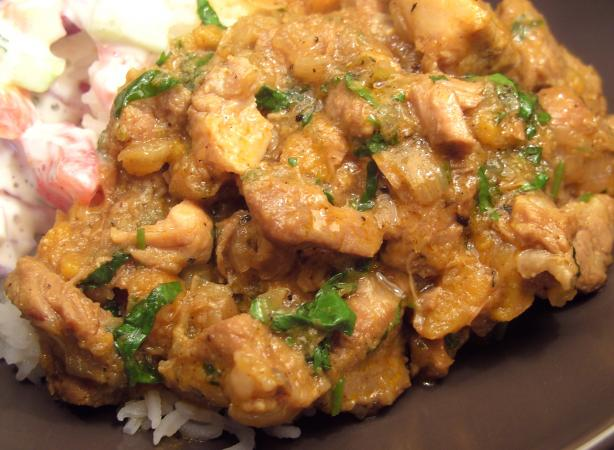 Ginger Curry Pork and Rice