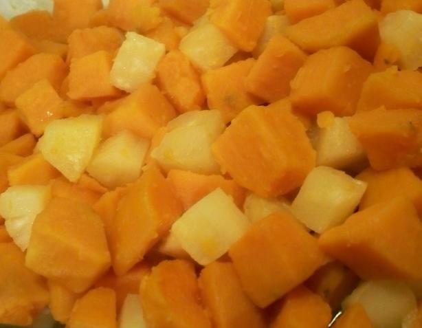 Pineapple Sweet Potato Bake