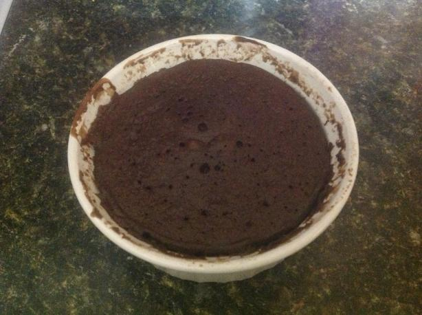 3 Minute Chocolate Cake in a Cup
