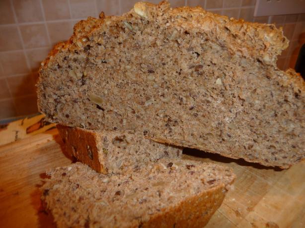 Three Minute Spelt Bread