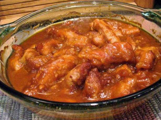 Polynesian Barbecued Pork (Crock Pot)