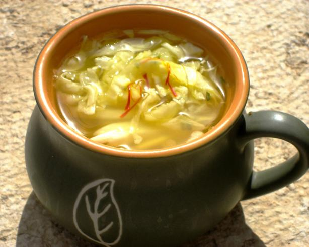 Caboches in Potage (Cabbage Soup)
