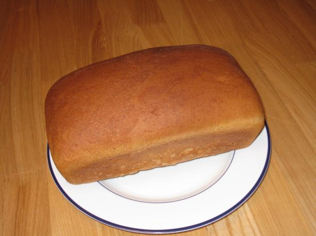 One-Rise Honey Wheat Bread