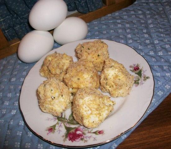 Chicken and Egg Balls