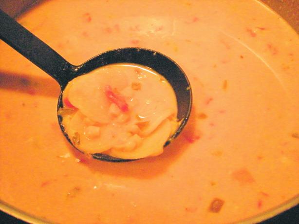 Nacho Cheese Potato Soup