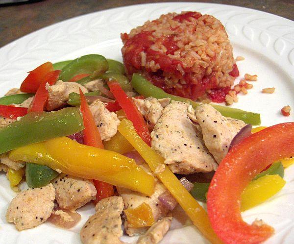 Chicken Fajita Stir-Fry With Peppers