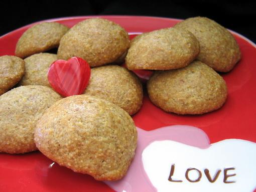 Lemon Cornmeal Cookies (Cooking Light)