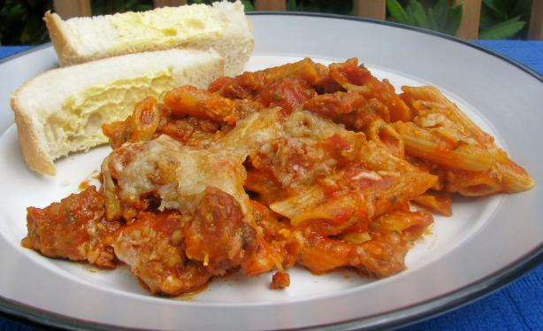 Baked Sausage Penne