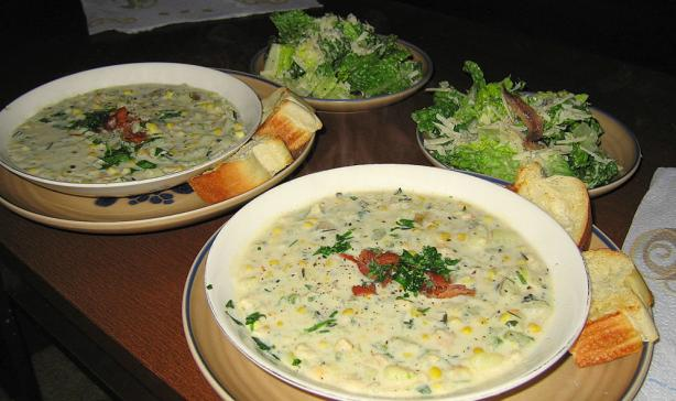 New England Clam and Corn Chowder With Herbs