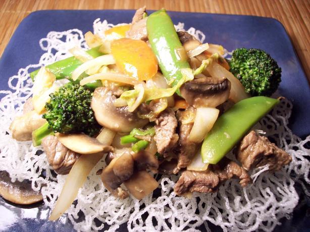 Robi's Steak and Bok Choy Stir Fry