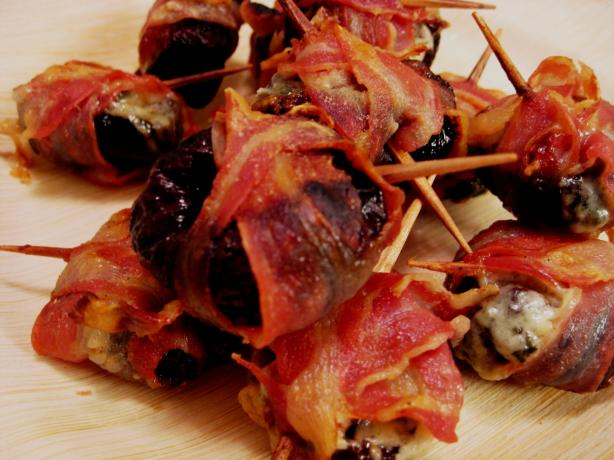 Oven-Roasted Prunes Wrapped With Pancetta