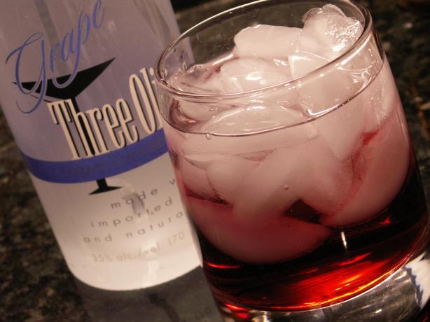 Cran-Grape Cocktail