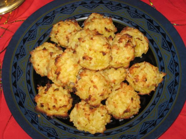 Coconut Haystack Cookies