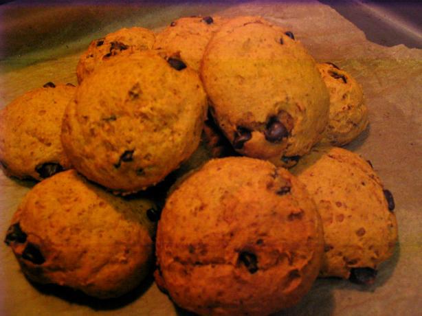 Vegan Chocolate Pumpkin Cookies