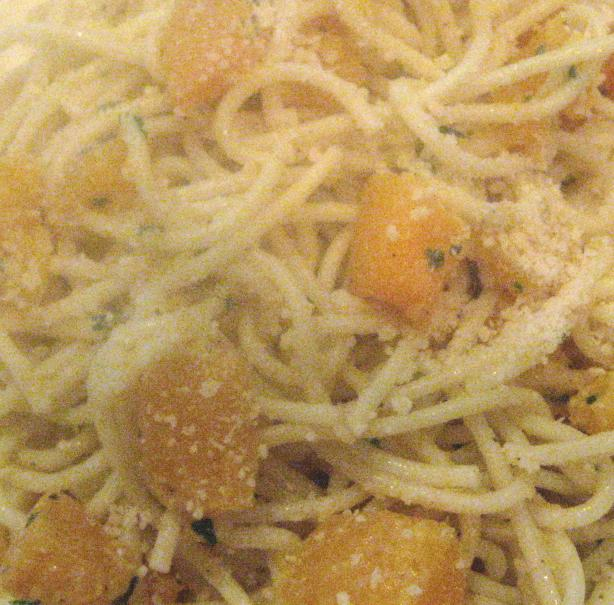 Roasted Winter Squash Pasta