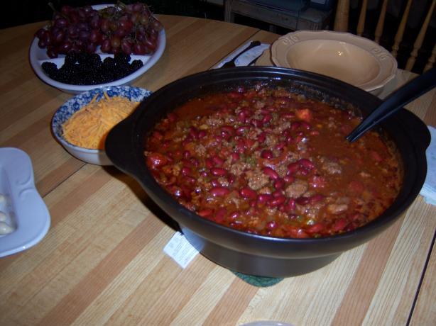 Sarah's Best Chili Recipe
