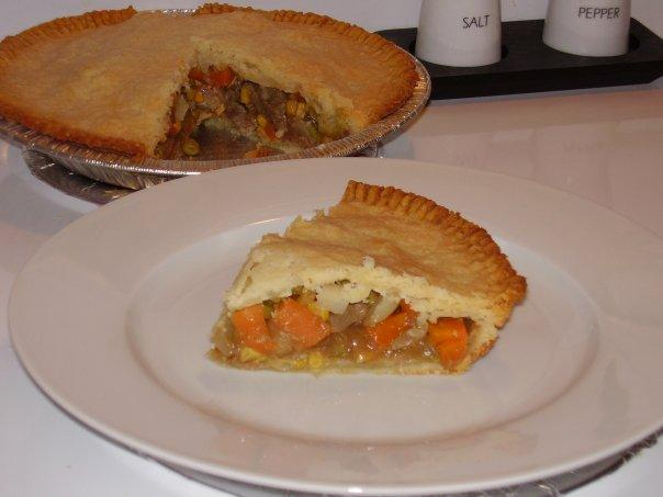 Meat N' Veggie Pie