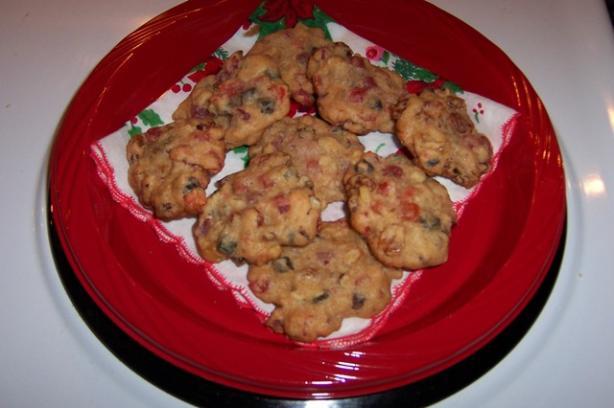 Festive Fruitcake Cookies