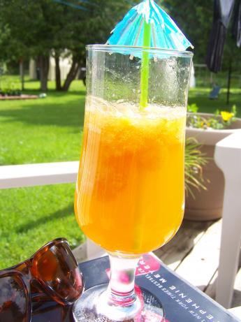 Frozen Summer Slush Tea