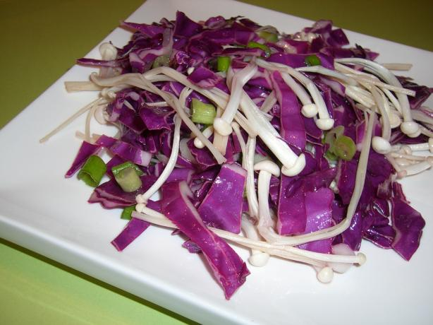 Marinated Enoki Salad