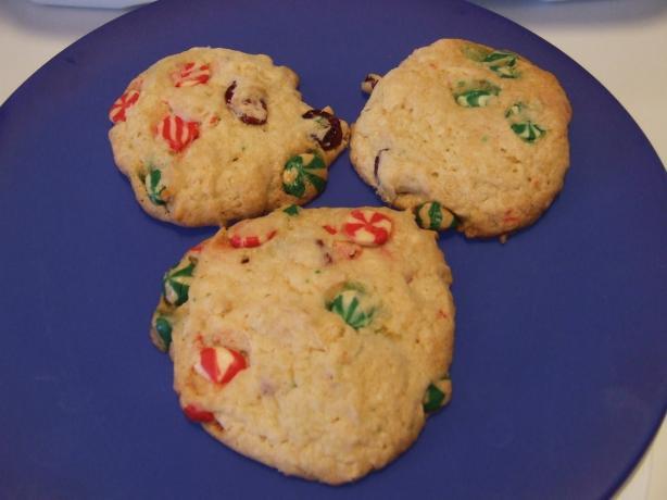 Cheryl's Swirled Christmas Cookies