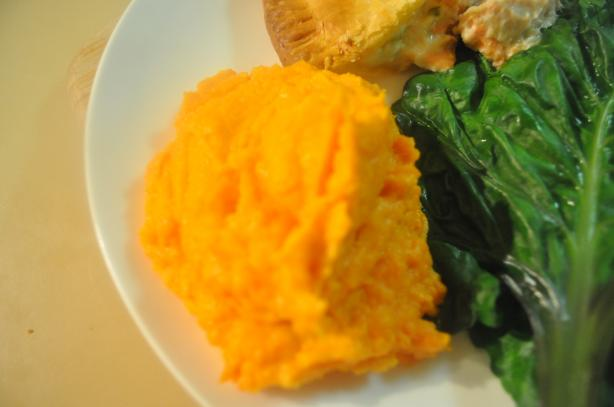 Oh so Creamy Sweet Potato (Or Yam)