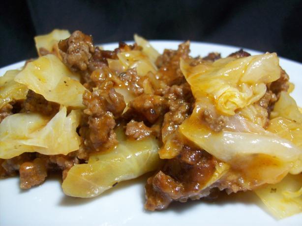 Beef & Cabbage Casserole