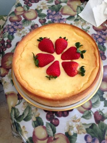 Jesse's Italian Ricotta Cheesecake