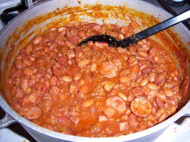 Vossie's Famous Iditarod Bean Stew