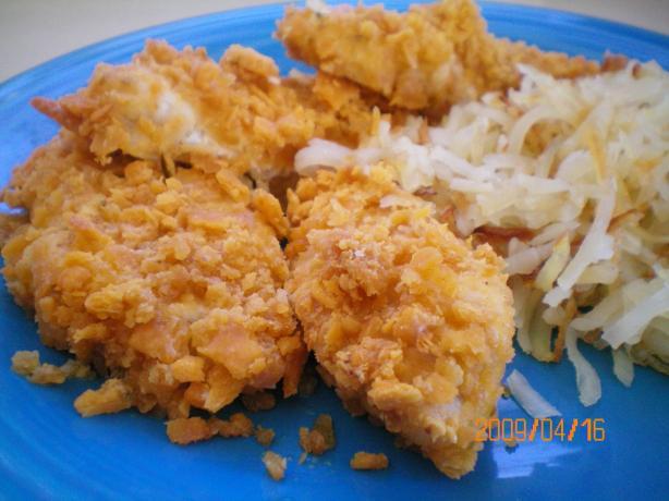 Cheesy Cracker Chicken