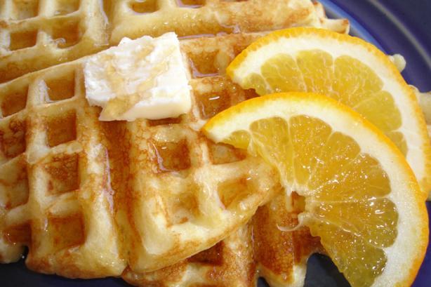 Bisquick Orange Waffles