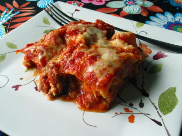 Three Layer Cheesy Lasagna