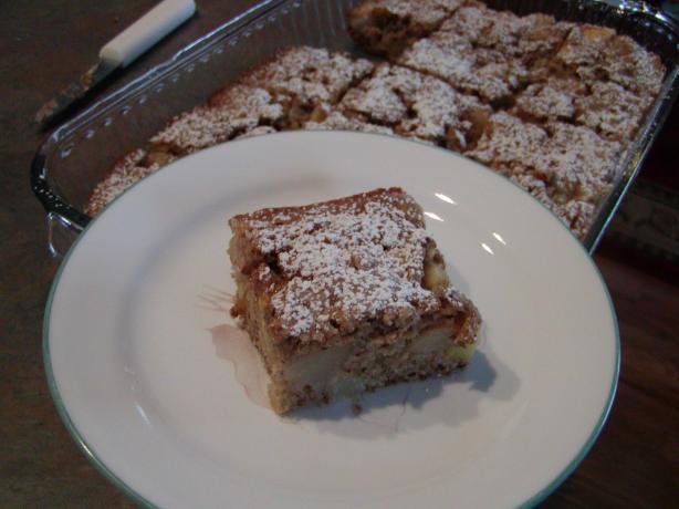 Healthy Apple Pear Cake