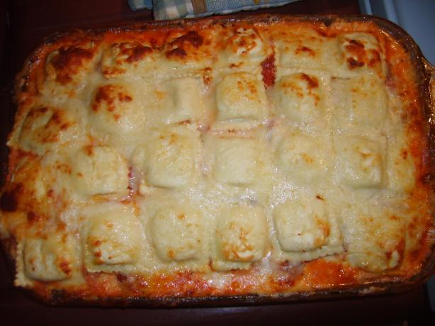 Ravioli Lasagna (W/ Vegan Alt.)