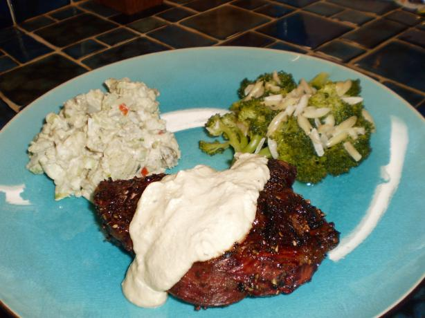 Peppered Tenderloin With Mustard Sauce