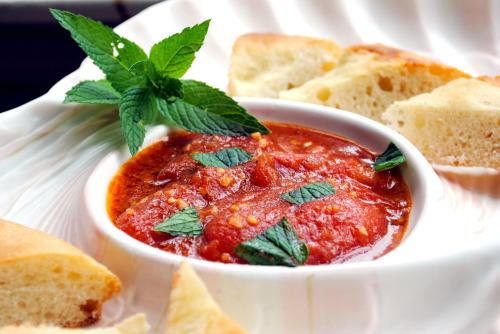 Lebanese Tomato Salsa (Banadurah Harrah)