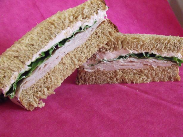 Pink Turkey Sandwich