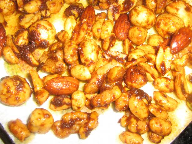 Hot and Spicy Cocktail Nuts