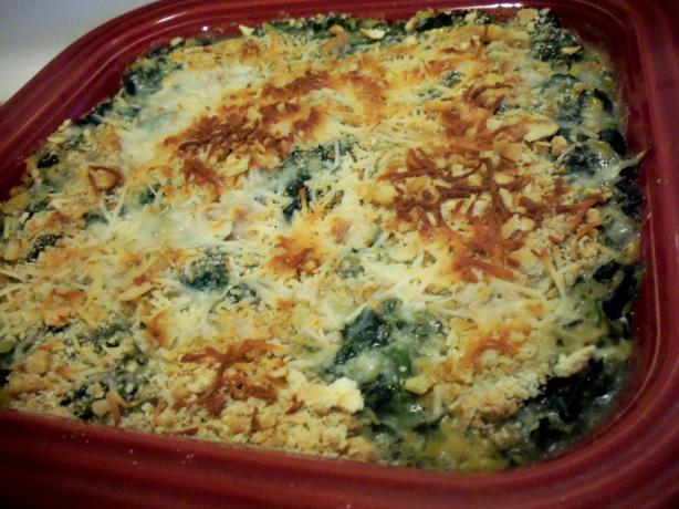 Spinach Corn Casserole