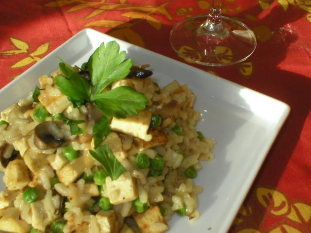 Tofu Risotto