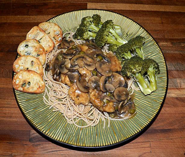 Chicken Marsala With Capers