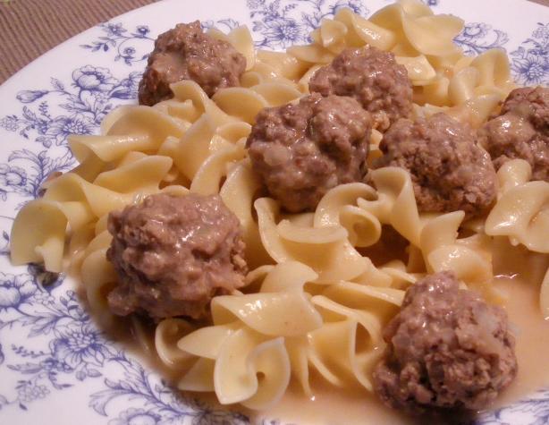 Koenigsberger Klops (Meatballs)