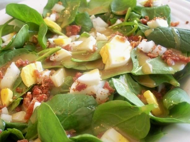 Lancer's Spinach Salad