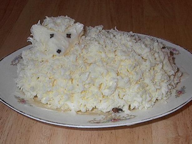 Polish Easter Butter Lamb