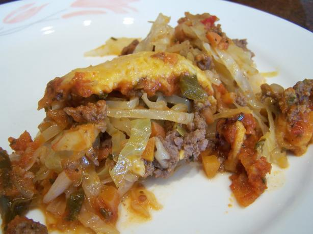 Meat Cabbage Casserole